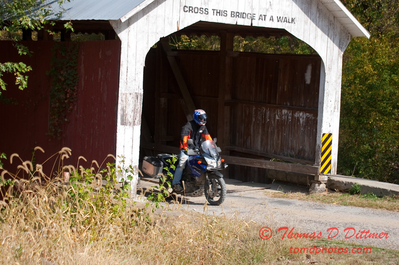 2010 - Covered Bridge Festival (red route) - Parke County Indiana - Monday  October 11th - 68