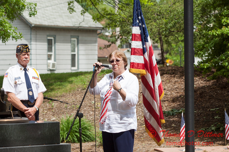 20 - 2015 Bloomington Illinois Korean & Vietnam Veterans Memorial Day Ceremony - Bloomington Illinois