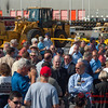 13 -President George W Bush signs the Transportation bill into law at the Caterpillar Plant located in Montgomery Illinois - August 2005