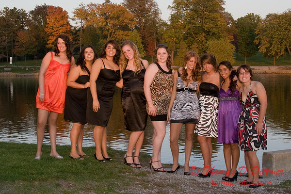 Renae & Friends prior to Central Catholic High School Homecoming Dance - 22