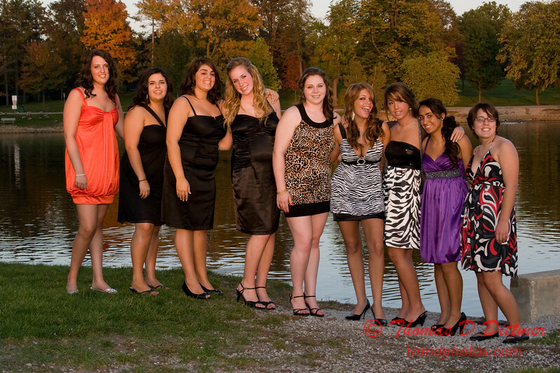 Renae & Friends prior to Central Catholic High School Homecoming Dance - 25