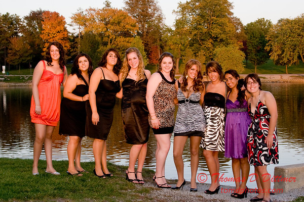 Renae & Friends prior to Central Catholic High School Homecoming Dance - 23