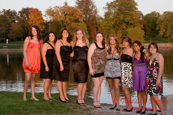 Renae & Friends prior to Central Catholic High School Homecoming Dance - 24