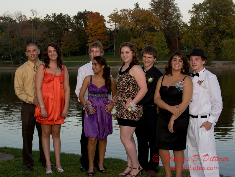 Renae & Friends prior to Central Catholic High School Homecoming Dance - 34