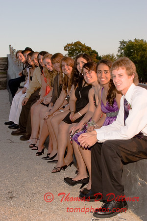 Renae & Friends prior to Central Catholic High School Homecoming Dance - 17