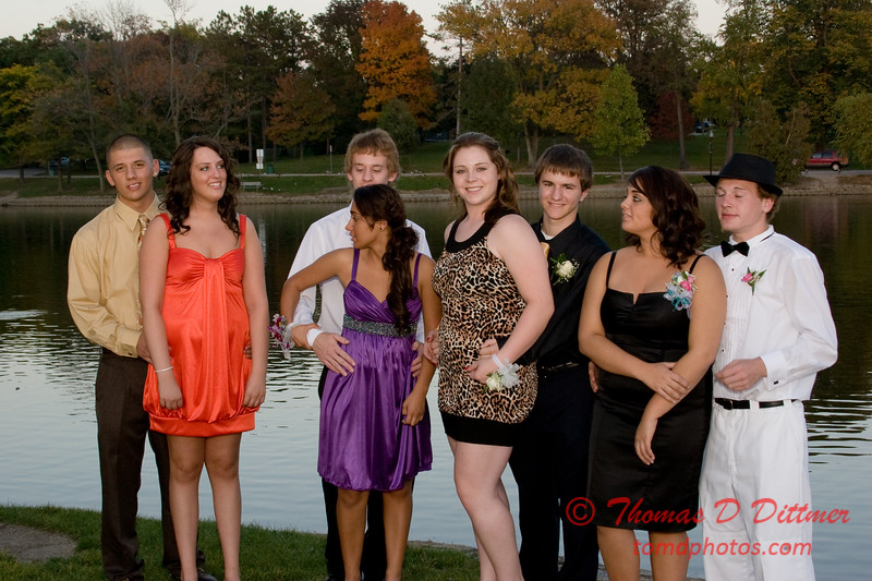 Renae & Friends prior to Central Catholic High School Homecoming Dance - 32