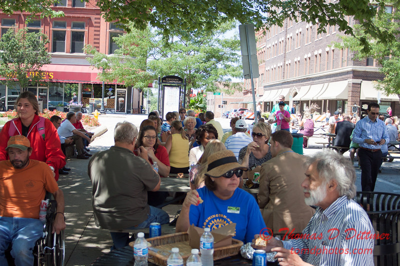 37 - 2015 Bloomington - Normal Sunrise Rotary Brats & Bags - Downtown Square - Bloomington Illinois
