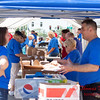 42 - 2015 Bloomington - Normal Sunrise Rotary Brats & Bags - Downtown Square - Bloomington Illinois