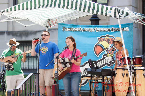 64 - 2015 Bloomington - Normal Sunrise Rotary Brats & Bags - Downtown Square - Bloomington Illinois