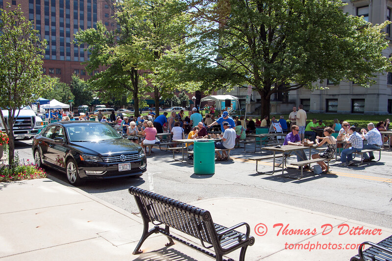 2 - 2015 Bloomington - Normal Sunrise Rotary Brats & Bags - Downtown Square - Bloomington Illinois