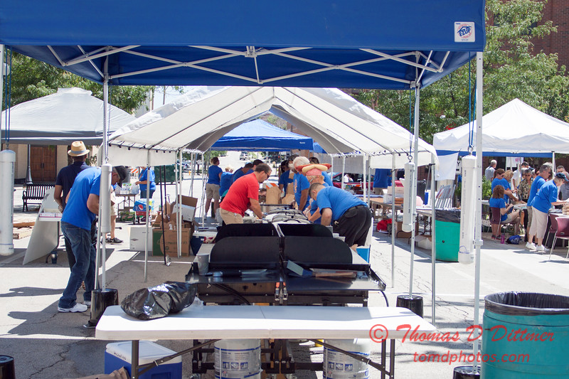 14 - 2015 Bloomington - Normal Sunrise Rotary Brats & Bags - Downtown Square - Bloomington Illinois