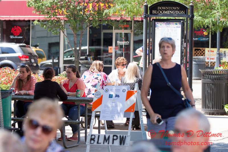 29 - 2015 Bloomington - Normal Sunrise Rotary Brats & Bags - Downtown Square - Bloomington Illinois
