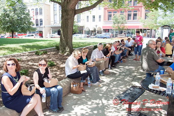 40 - 2015 Bloomington - Normal Sunrise Rotary Brats & Bags - Downtown Square - Bloomington Illinois