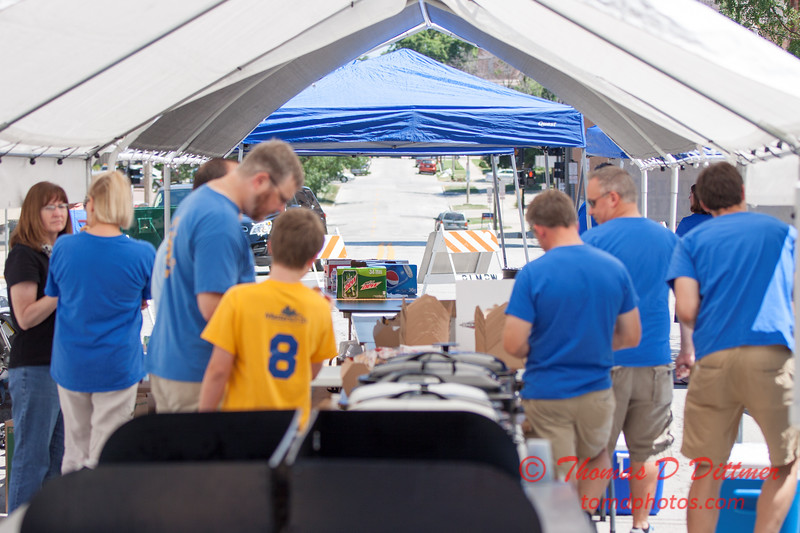 71 - 2015 Bloomington - Normal Sunrise Rotary Brats & Bags - Downtown Square - Bloomington Illinois