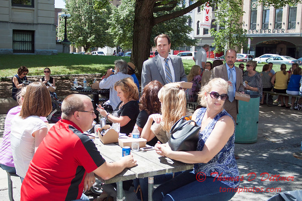 32 - 2015 Bloomington - Normal Sunrise Rotary Brats & Bags - Downtown Square - Bloomington Illinois