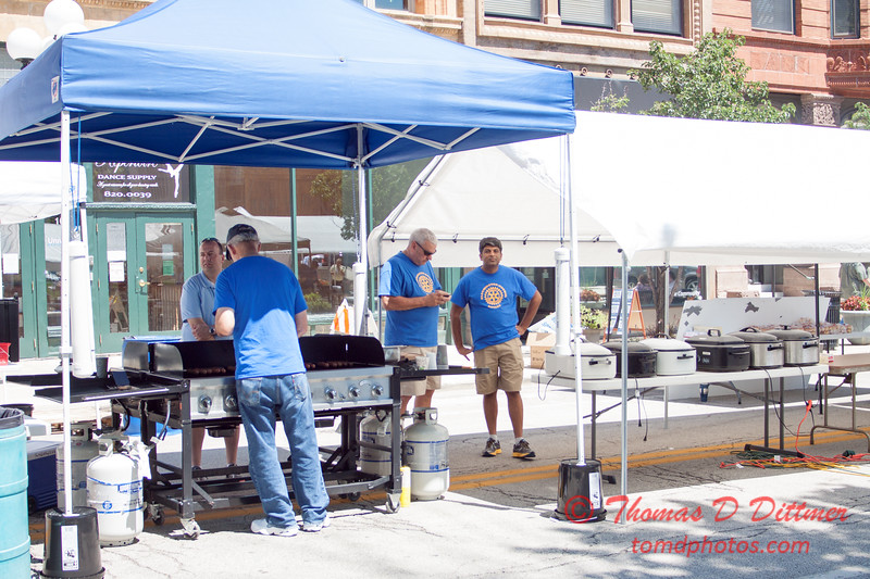 58 - 2015 Bloomington - Normal Sunrise Rotary Brats & Bags - Downtown Square - Bloomington Illinois
