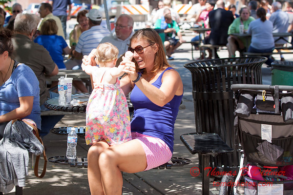 20 - 2015 Bloomington - Normal Sunrise Rotary Brats & Bags - Downtown Square - Bloomington Illinois