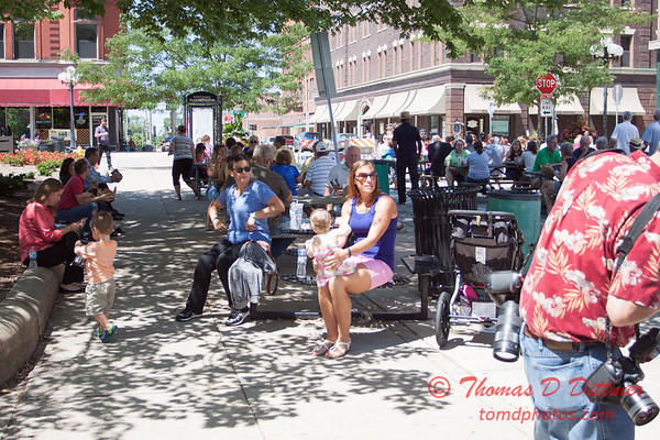 26 - 2015 Bloomington - Normal Sunrise Rotary Brats & Bags - Downtown Square - Bloomington Illinois