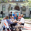 4 - 2015 Bloomington - Normal Sunrise Rotary Brats & Bags - Downtown Square - Bloomington Illinois