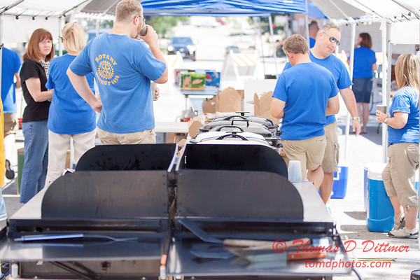 70 - 2015 Bloomington - Normal Sunrise Rotary Brats & Bags - Downtown Square - Bloomington Illinois