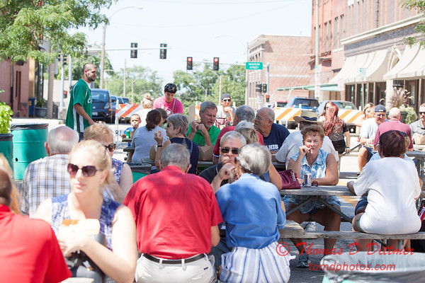 12 - 2015 Bloomington - Normal Sunrise Rotary Brats & Bags - Downtown Square - Bloomington Illinois