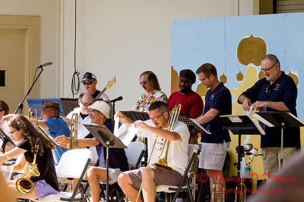 Heartland Jazz Orchestra at Connie Link Ampitheatre - #1