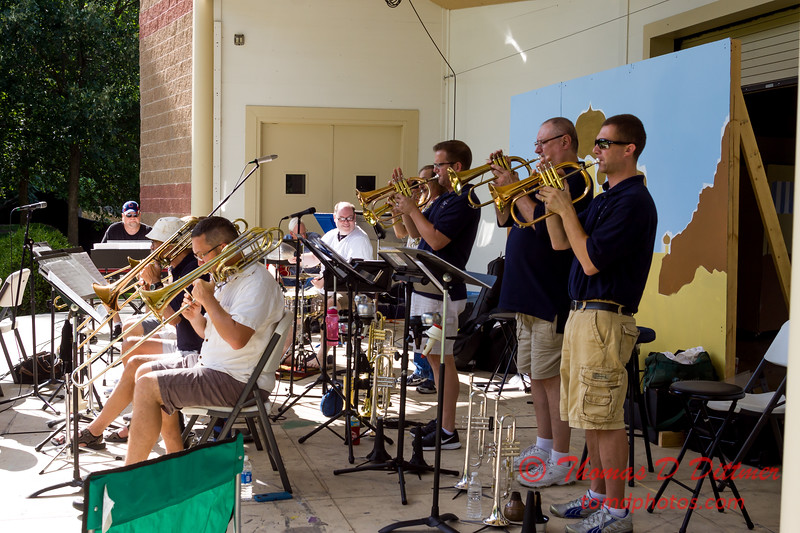 Heartland Jazz Orchestra at Connie Link Ampitheatre - #23