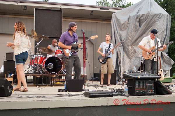 7/22/14 The New and Slightly Used - Music under the Stars