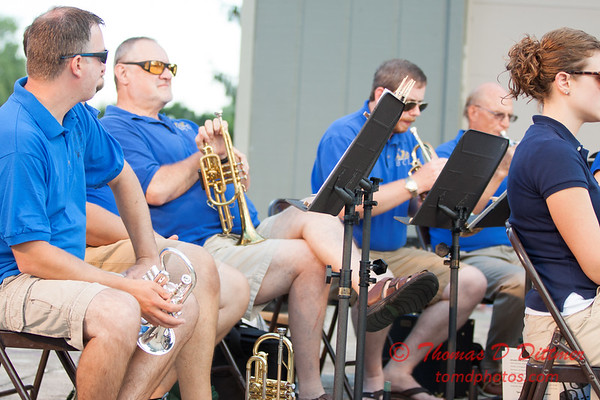 7 -  2015 Music Under the Stars - Miller Park Bandstand - Bloomington Illinois