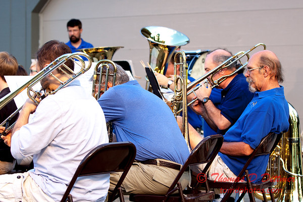 8/11/15 Brass Band of Central Illinois - Music Under the Stars 2015