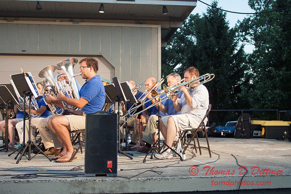56 -  2015 Music Under the Stars - Miller Park Bandstand - Bloomington Illinois