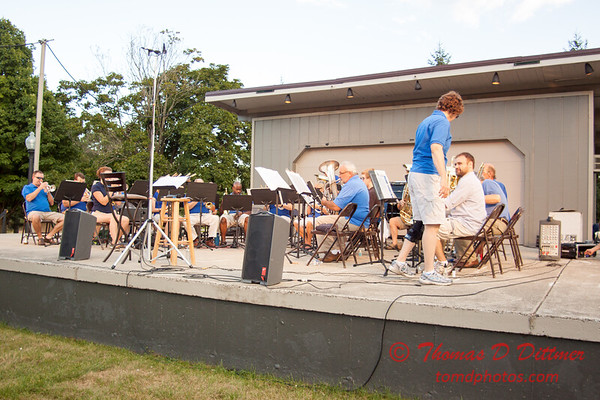 3 -  2015 Music Under the Stars - Miller Park Bandstand - Bloomington Illinois