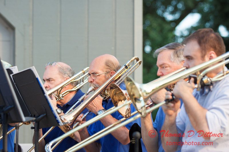10 -  2015 Music Under the Stars - Miller Park Bandstand - Bloomington Illinois