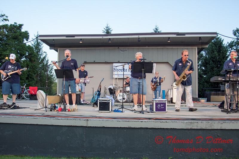 43 - 2015 Music Under the Stars - Miller Park Bandstand - Bloomington Illinois