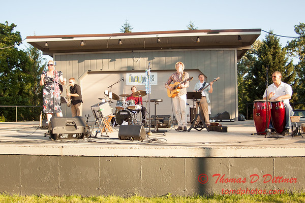 18 - 2015 Music Under the Stars - Miller Park Bandstand - Bloomington Illinois