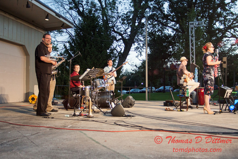 69 - 2015 Music Under the Stars - Miller Park Bandstand - Bloomington Illinois