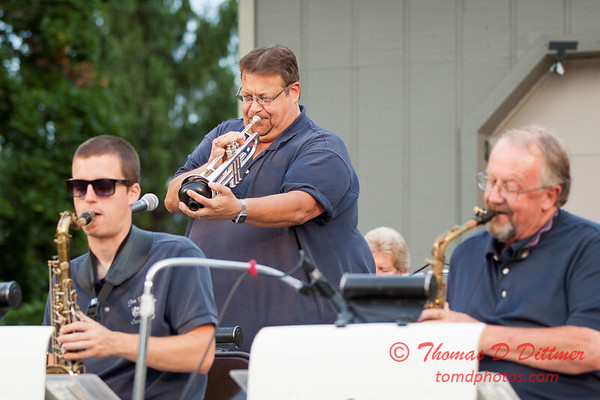25 - 2015 Music Under the Stars - Miller Park Bandstand - Bloomington Illinois
