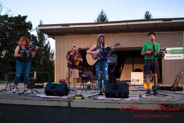 Music Under The Stars - Miller Park Bandstand - Bloomington Illinois - #1