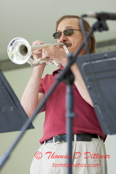 35 - 2015 Lunchtime Concerts - Prairieland Dixie Band - Withers Park - Bloomington Illinois