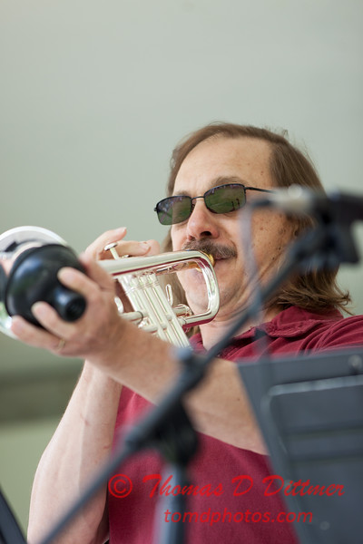 32 - 2015 Lunchtime Concerts - Prairieland Dixie Band - Withers Park - Bloomington Illinois
