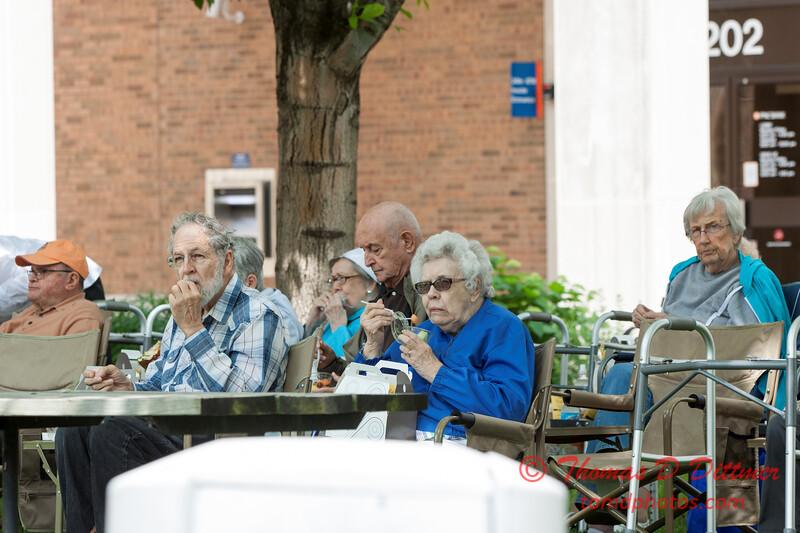 24 - 2015 Lunchtime Concerts - Prairieland Dixie Band - Withers Park - Bloomington Illinois