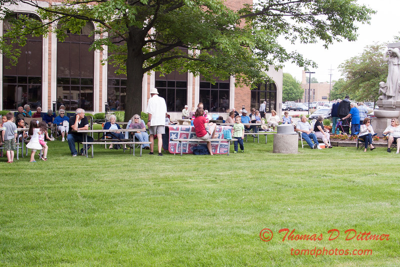 43 - 2015 Lunchtime Concerts - Prairieland Dixie Band - Withers Park - Bloomington Illinois