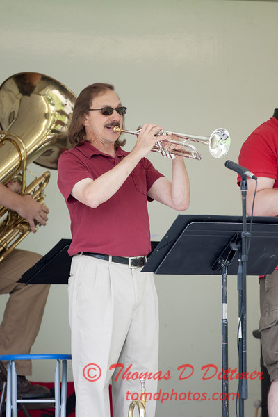 19 - 2015 Lunchtime Concerts - Prairieland Dixie Band - Withers Park - Bloomington Illinois
