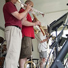 9 - 2015 Lunchtime Concerts - Prairieland Dixie Band - Withers Park - Bloomington Illinois