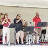 1 - 2015 Lunchtime Concerts - Prairieland Dixie Band - Withers Park - Bloomington Illinois