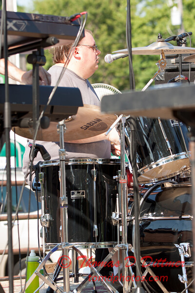 46 - Marc Boon & The Amazing Show Band - 2015 Danvers Days - Danvers Illinois