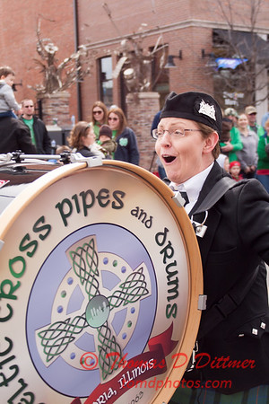 2015 - St Patrick's Day Parade - Normal Illinois