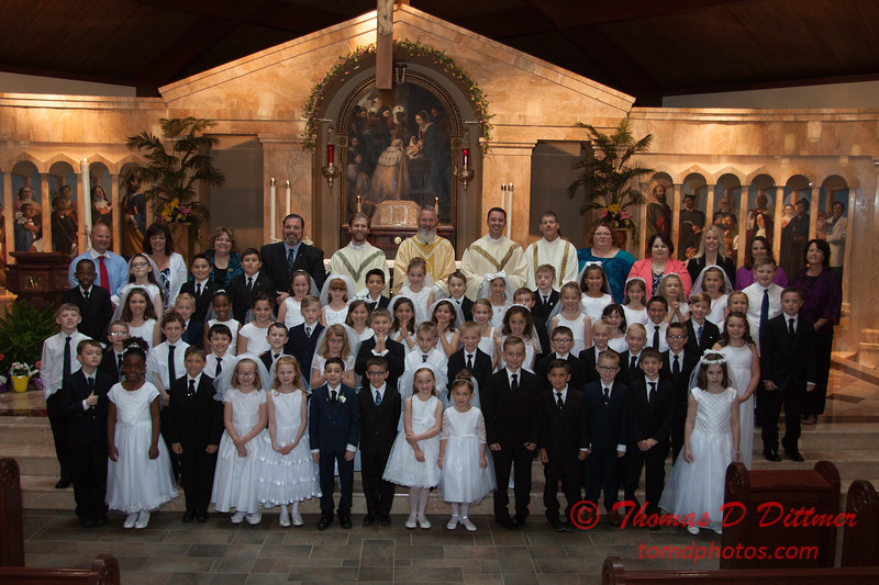 2017 Epiphany Parish 1st Communion - #352