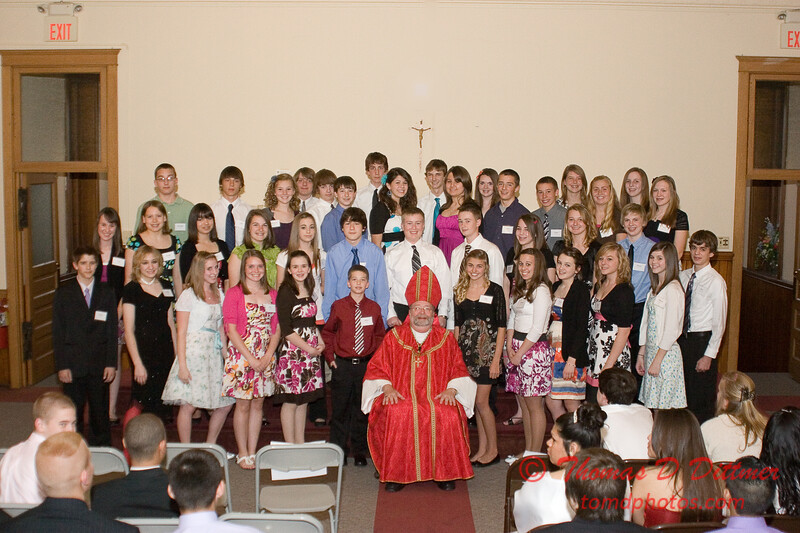 2010 - Confirmation Mass - St. Mary's of the Immaculate Conception Cathedral - Peoria Illinois - April 21st - 4