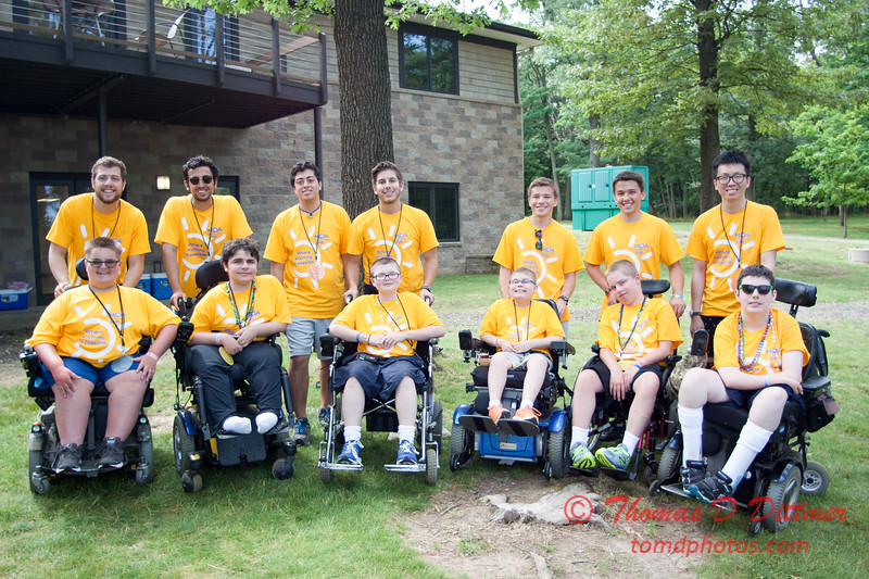 2016 MDA Summer Camp - Timber Pointe Outdoor Center - Hudson Illinois - #84